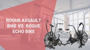 Rogue Assault Bike vs. Rogue Echo Bike - October 2021