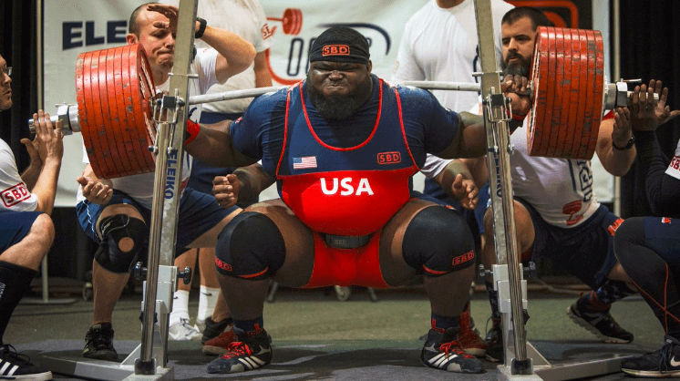 Ray Williams Squat Barbell Pursuits