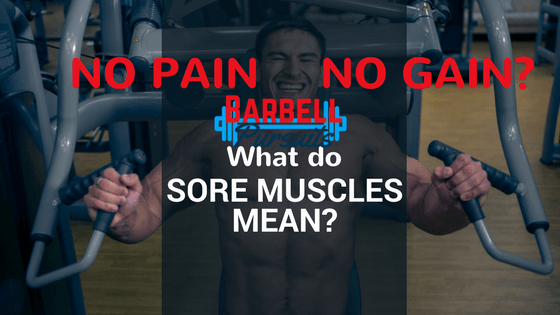 Muscle soreness after a workout featured image