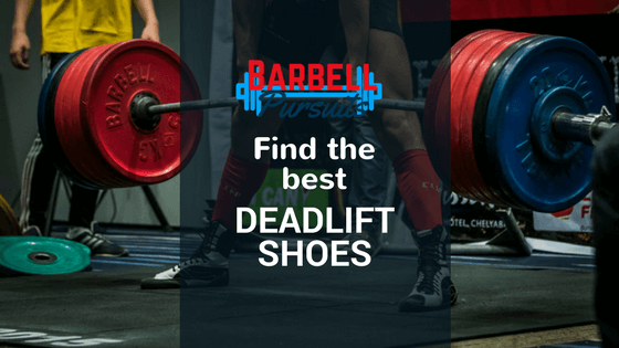 powerlifter in good deadlift shoes