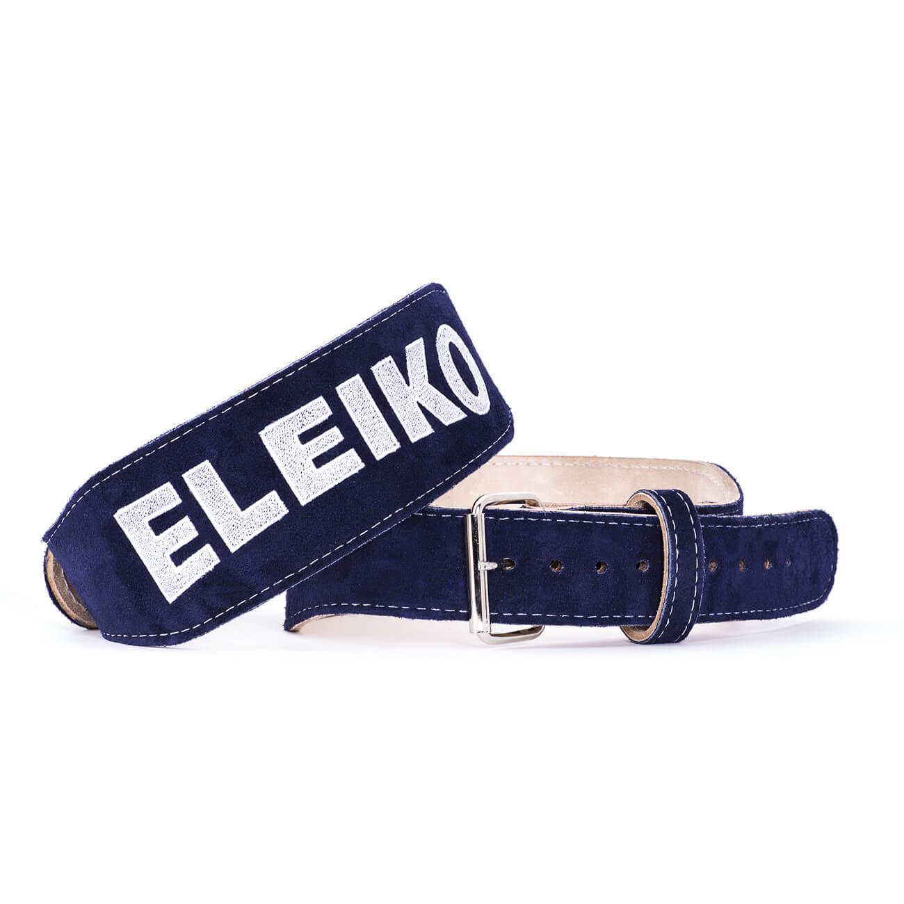 blue eleiko weightlifting belt