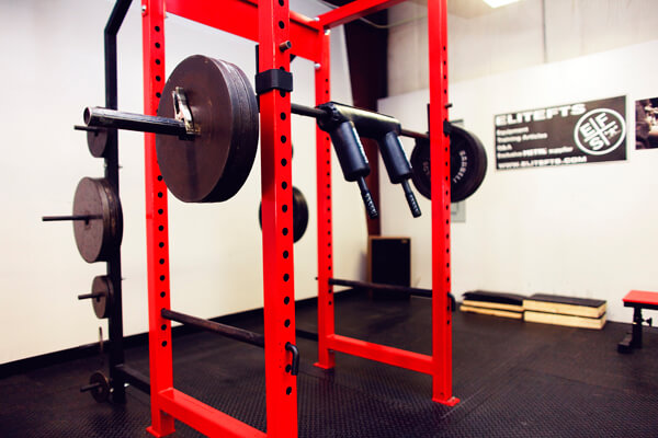 SS yoke strength training bar