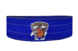 Longhorn powerlifting belt