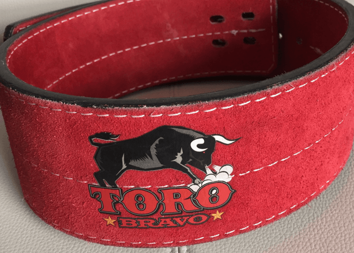Toro bravo powerlifting belt