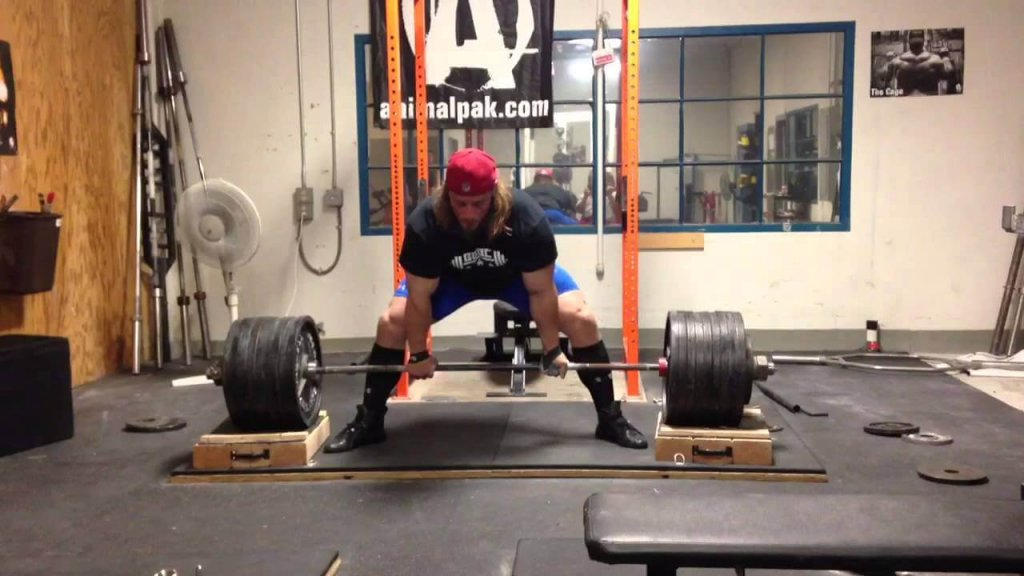 Dan green deadlift from blocks