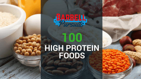 High protein foods featured image