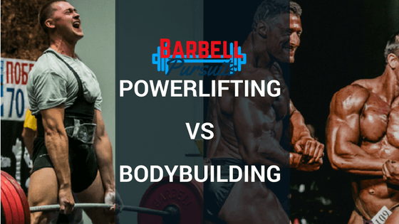 powerlifting vs bodybuilding featured image
