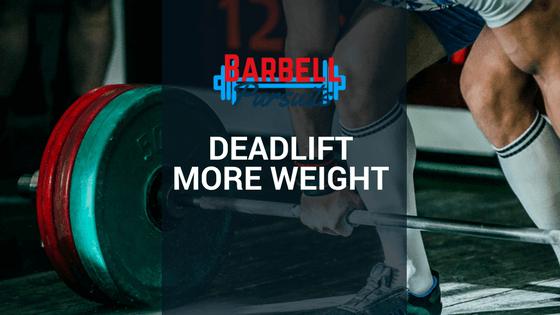 Deadlift Cues Barbell Pursuits