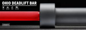 ohio deadlift cerakote bar