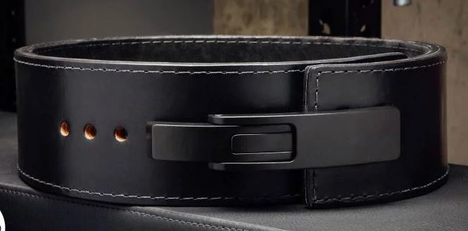 A25 BLACK LEATHER MAN BELT 52/'/'  AOTUMATIC BUCKLE SHIPPING WITH TRACKING NUMBER