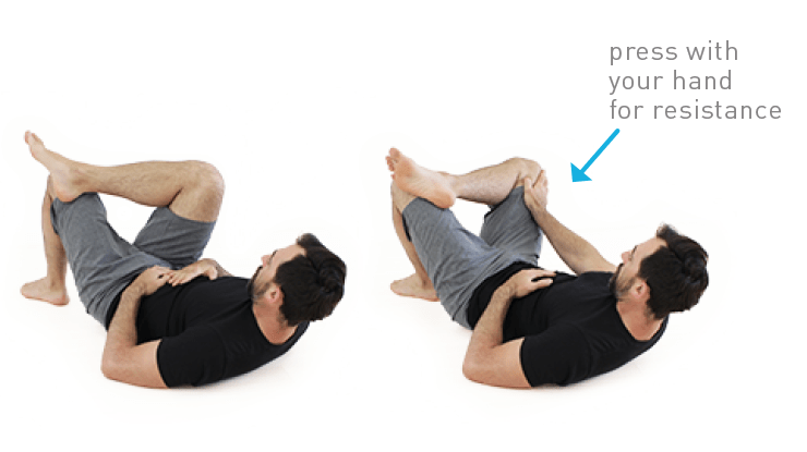 Lying Hip Rotations