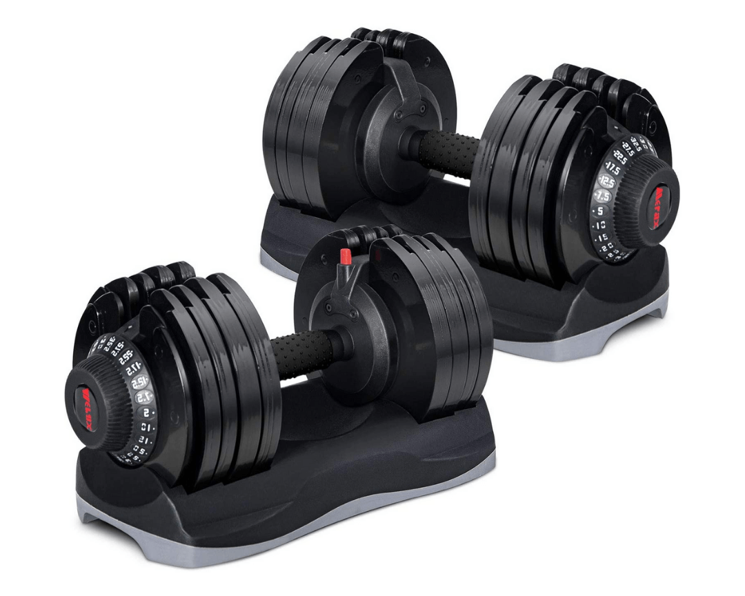 Merax Deluxe Adjustable Dial Dumbbell, July 2021